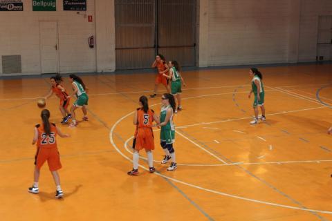 Club Bàsquet Bellpuig 16-17_02_04 Cadet femení negre