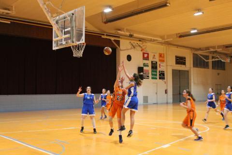 Club Bàsquet Bellpuig 16-17_02_11 Cadet femení negre