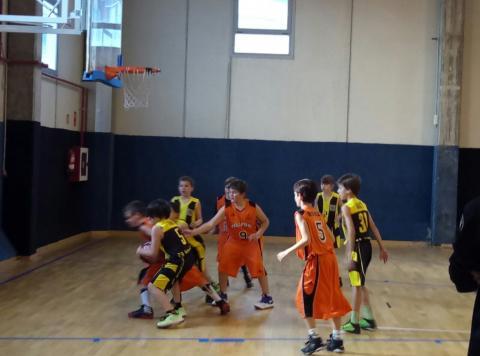 Club Bàsquet Bellpuig 16-17_01_28 Pre-mini masculí taronja
