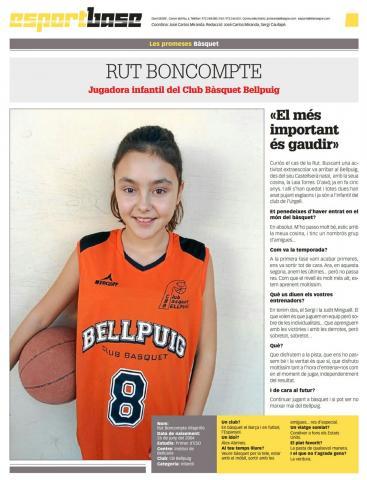 Club Bàsquet Bellpuig 16-17_03_13 Rut Boncompte