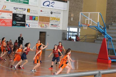 Club Bàsquet Bellpuig 16-17_04_08 Cadet femení taronja