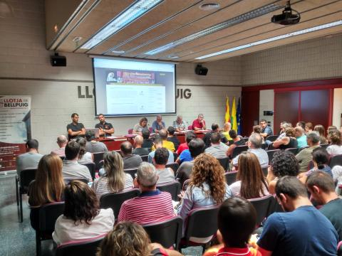 Club Bàsquet Bellpuig 16-17 Assemblea socis