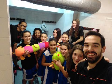 Club Bàsquet Bellpuig 16-17_12_03 Infantil femení