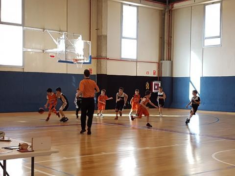 Club Bàsquet Bellpuig_17-18_02_17 Premini masculí taronja