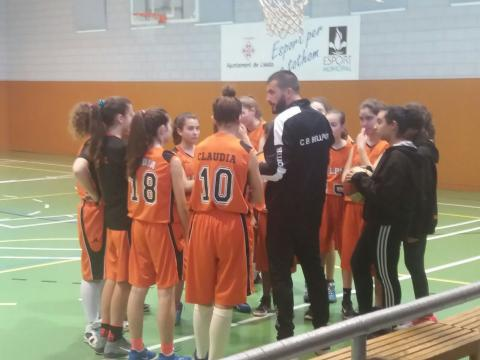 Club Bàsquet Bellpuig_17-18_03_03 Infantil femení