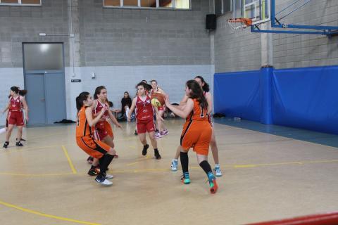 Club Bàsquet Bellpuig_17-18_04_06 Cadet femení