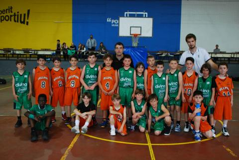 Club Bàsquet Bellpuig_17-18_04_28 Premini masculí torneig Artesa