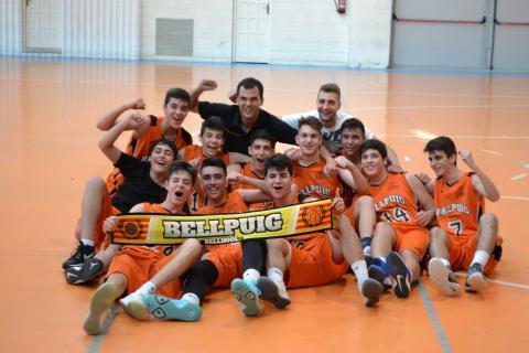 Club Bàsquet Bellpuig_17-18_05_20 Cadet masculí