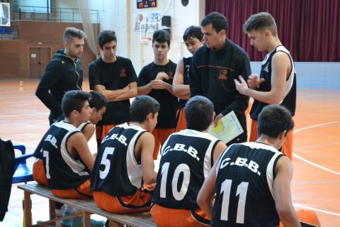 Club Bàsquet Bellpuig_17-18_11_18 Cadet masculí