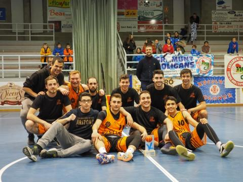 Club Bàsquet Bellpuig_18-19_01_26 Sènior A masculí