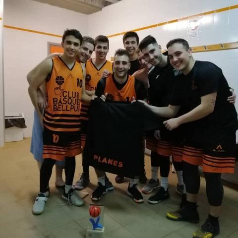 Club Bàsquet Bellpuig_18-19_01_27 Sènior A masculí