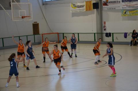 Club Bàsquet Bellpuig_18-19_02_02 Sènior A femení