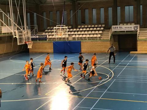 Club Bàsquet Bellpuig_18-19_10_13 Mini masculí taronja