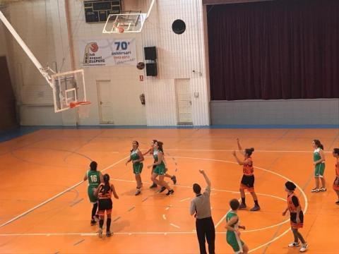 Club Bàsquet Bellpuig_18-19_11_03 Cadet femení
