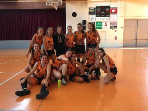 Club Bàsquet Bellpuig_19-20_10_26 Júnior femení