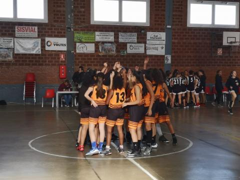 Club Bàsquet Bellpuig_19-20_11_02 Cadet femení