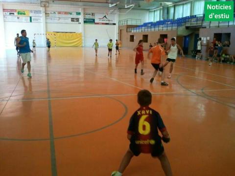 Esports alternatius en el segon dia del Campus Club Bàsquet Bellpuig