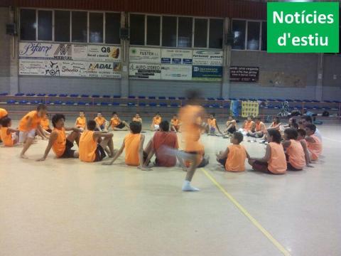 Ha acabat el segon campus d'estiu del Club bàsquet Bellpuig