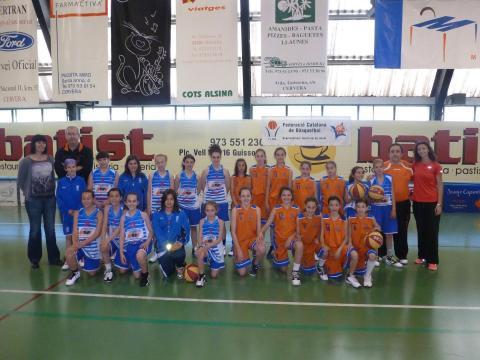 Semifinal a 4. 12 de maig a Cervera.  AE Sedis - CB Bellpuig