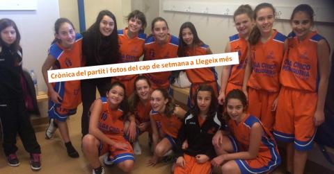L'infantil femení del Club Bàsquet Bellpuig classificat per Interterritorial