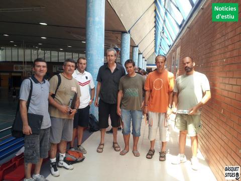 Entrenadors Lleidatans al Clínic Sitges 2013