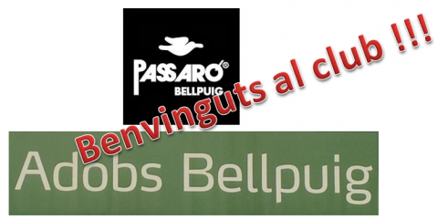 Dos nous patrocinadors al Club bàsquet Bellpuig