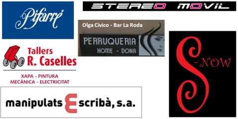 Patrocinadors del club bàsquet bellpuig temporada 2013-2014